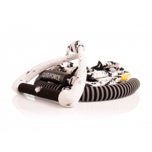 """Surf 9"""" Ultra Suede Rope White by Liquid Force"""