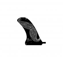 Longboard 6.5 Center Fin – Adjustable Box by Liquid Force