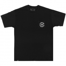 Custom Shapes Pocket Tee Black