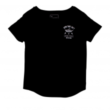 Spinning Wmns Black T by Liquid Force