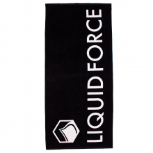 Logo Towel-Black by Liquid Force