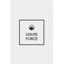 "3.5"" Corp Logo Printed Vinyl Sticker 10Pk by Liquid Force"