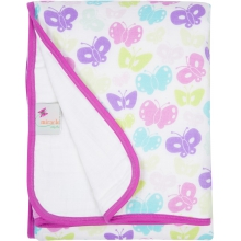 Serenity Blanket - Butterflies by MiracleWare
