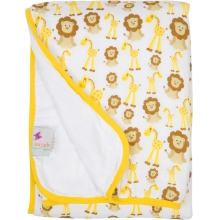 Serenity Blanket - Giraffes and Lions  by MiracleWare