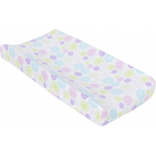 Changing Pad Cover - Colorful Bursts  by MiracleWare