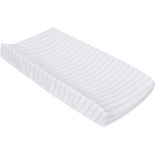 Changing Pad Cover - Blue & Gray Stripes  by MiracleWare