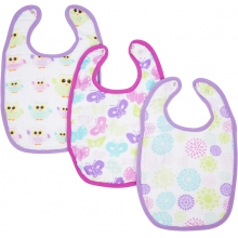 Bibs - Colorful Bursts Adjustable Bib 3-Pack by MiracleWare