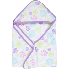 Hooded Towel - Colorful Bursts by MiracleWare