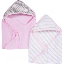 Hooded Towels 2 Pack - Pink MiracleWare Muslin by MiracleWare in Ashburn Va