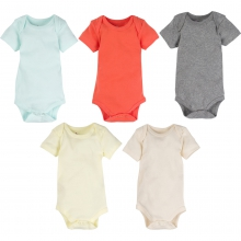 Bodysuits - Neutral Color MiracleWear Bodysuit 5-Pack 6-9 Month by MiracleWare