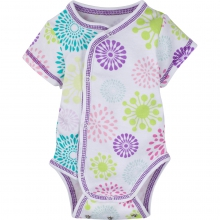Bodysuits - Colorful Burst Adjustable Bodysuit Short-Sleeve 6-12 Month by MiracleWare