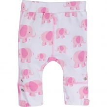 Adjustable Pants - Pink Elephant Adjustable Pants 6-12 Month by MiracleWare