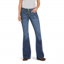 Women's R.E.A.L. High Rise Stretch Polly Flare Jean by Ariat in Lafayette CO