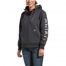 Women's Rebar All-Weather Full Zip Hoodie by Ariat in Loveland CO