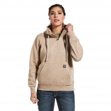 Women's Rebar Skill Set 1/2 Zip Hoodie by Ariat in Lafayette CO