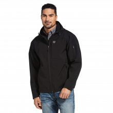 Men's Vernon Hooded Softshell Water Resistant Jacket by Ariat