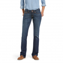 Women's R.E.A.L. Mid Rise Lucy Straight Jean by Ariat in Fort Collins CO
