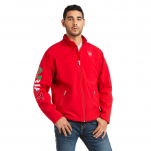 Men's New Team Softshell MEXICO Water Resistant Jacket by Ariat in Chelan WA