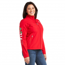 Women's Classic Team MEXICO Softshell Water Resistant Jacket by Ariat in Kissimmee FL