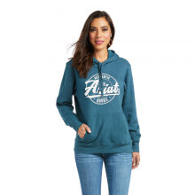 Women's REAL Arm Logo Hoodie by Ariat