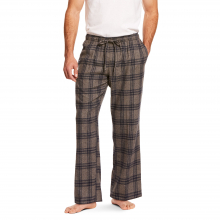 MNS FLANNEL PAJAMA PANT HEATHERGREY PLD by Ariat