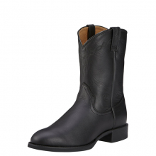 MNS HERITAGE ROPER BLK by Ariat in Fort Collins CO
