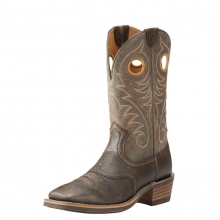 MNS HERITAGE ROUGHSTK WST BKLYN BSHES by Ariat