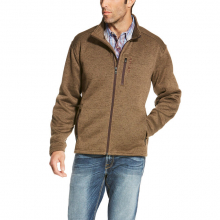 MNS CALDWELL FULL ZIP SWTR FOSSIL by Ariat
