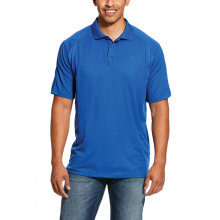 MNS AC SS POLO COUSTEAU BLUE by Ariat