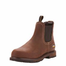 Men's Groundbreaker Chelsea Waterproof Steel Toe Work Boots by Ariat