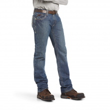 Men's FR M4 Low Rise Boundary Boot Cut Jean