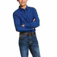 Kid's Groton Classic Fit Shirt by Ariat