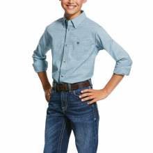 Kid's Pro Series Novato Stretch Classic Fit Shirt by Ariat