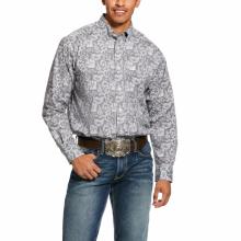 Men's Fayette Print Stretch Classic Fit Shirt