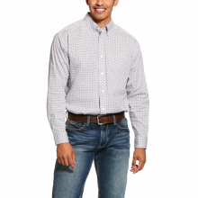Men's Ferndale Print Stretch Classic Fit Shirt by Ariat