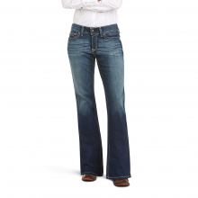 Women's R.E.A.L. Mid Rise Stretch Original Boot Cut Jean by Ariat in Lafayette CO