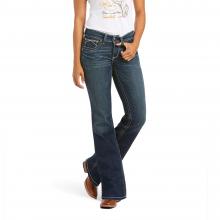 Women's R.E.A.L. Mid Rise Stretch Whipstitch Boot Cut Jean by Ariat in Omak WA