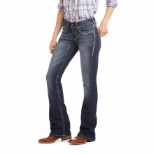 Women's R.E.A.L. Mid Rise Stretch Entwined Boot Cut Jean