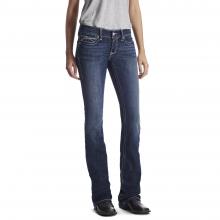 Women's R.E.A.L. Low Rise Stretch Rosy Whipstitch Boot Cut Jean