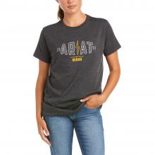 Women's Rebar Cotton Strong Bolt T-Shirt by Ariat in Loveland CO