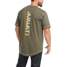 Men's Rebar Workman Logo T-Shirt by Ariat