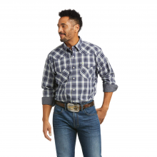 Men's Relentless Valorous Performance Stretch Classic Fit Snap Shirt by Ariat in Lafayette CO