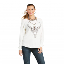Women's Getter Done Burnout Sweatshirt by Ariat in Fort Collins CO