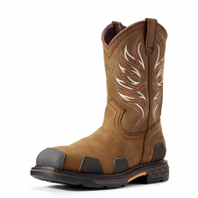 Men's OverDrive Wide Square Toe Composite Toe Work Boot by Ariat in Fort Collins CO