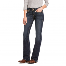 Women's R.E.A.L. Mid Rise Stretch Shayla Boot Cut Jean by Ariat in Fort Collins CO