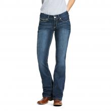 Women's R.E.A.L. Mid Rise Arrow Fit Stretch Shayla Boot Cut Jean
