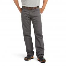 Men's Rebar M4 Low Rise DuraStretch Canvas 5 Pocket Boot Cut Pant by Ariat in Fort Collins CO