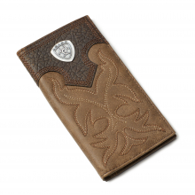 Men's Logo Boot Stitch Rodeo Wallet by Ariat