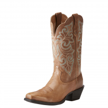 Women's Round Up Square Toe Western Boot by Ariat in Lafayette CO
