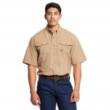 Men's Rebar Made Tough VentTEK DuraStretch Work Shirt by Ariat